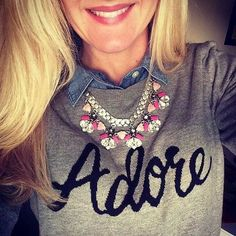 We adore everything about this outfit! Callie Necklace by Stella & Dot www.stelladot.com/emilyandrews