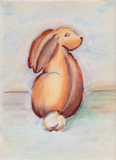 Sitting Rabbit from The House of Black