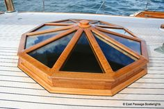 Wooden hatch construction. View the full project: http://www.epbws.com/mandala-hatch/