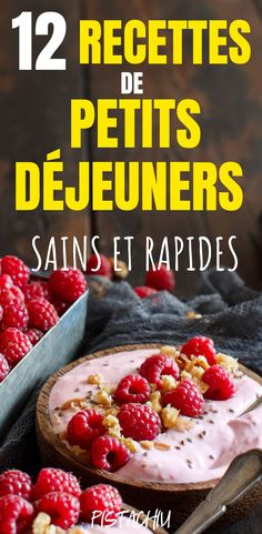 12 Recettes De Petits-Déjeuners Sains Et Rapides Healthy eating starts in the morning! Discover 12 easy, healthy and fast slimming breakfast recipes for weight loss. These super nutritious recipes will help you start the day off right! Healthy Recipes On A Budget, Healthy Eating Recipes, Nutritious Meals, Quick Recipes, Desayuno Paleo, Healthy Egg Breakfast, Breakfast Ideas, Easy Diets, Food And Drink