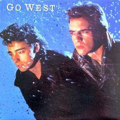 Go West - Go West CANADA 1985 Lp near mint w/Inner