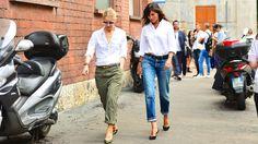 Emanuelle Alt Milan Fashion Week September 2014   Stories   Editorialist
