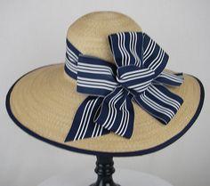 Hamptons Cartwheel... hats for gentlemen & ladies are welcome at this event!