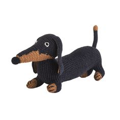 Add a playful toy to your child's bedroom with this dachshund dog from Anne-Claire Petit. This cute toy will become a firm favourite with any child and adds a handmade touch to any room, created us...