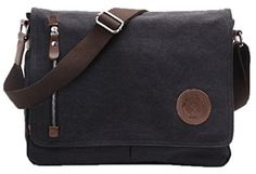 Messenger Bag Mens,Augur Canvas Men Side Bag/Sling Bag/Shoulder Bag/Student Tablet Books Bag Courier Satchel Cross Body Bag with Pure Cotton for Men Women Work Office Laptop Bag Mens Canvas Messenger Bag, Cool Messenger Bags, Vintage Messenger Bag, Crossbody Shoulder Bag, Leather Crossbody Bag, Crossbody Bags, Duffel Bags, Satchel Bag, Leather Bags
