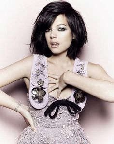 """Lily Allen. Love this Brit. """"The Fame"""" is all that and a bag of chips."""