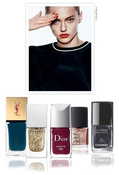 Vernis à ongles tendance automne hiver 2014 2015 http://www.vogue.fr/beaute/shopping/diaporama/vernis-a-ongles-tendance-automne-hiver-2014-2015/20185