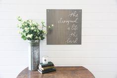 """She Designed A Life She Loved"" Sign | The Magnolia Market"