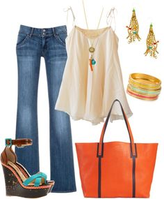 """""""beach outfit 2"""" by tammytummy on Polyvore"""