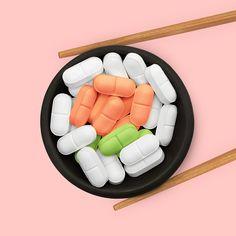 Sushi Medicine Roll -Paul Fuentes Design