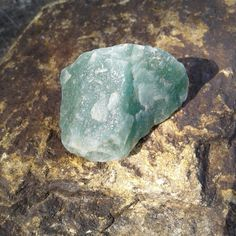 Raw Green Aventurine Crystal ~   Size ~ 36mms × 29mms   Beautiful Green Color, Perfect size for wire wrapping or just enjoying it's beauty just the way it is   All of our Crystals have been kissed and cleansed by the sun  1 available  $3.00  Link to our Etsy Shop is on our Pinterest Page