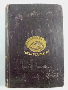 1881 THE GYPSIES & DETECTIVES Allan Pinkerton Illustrated National SPY Agency