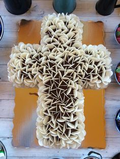 pasteles de primera comunion con ostias