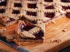 Гречневый пирог-кростата с малиновым вареньем - Портал Домашний