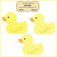 digital yellow ducks