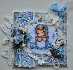 Magnolia stamps - Write a Message Tilda from the Lost and Found collection