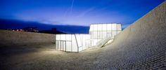 Architects: Steven Holl Architects in collaboration with Solange Fabiao  Location: Biarritz, France