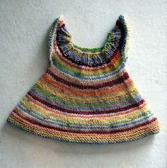 "knit dress pattern for 15"" doll"