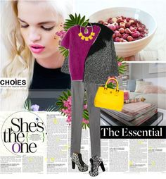 """The essential."" by venia92 ❤ liked on Polyvore"