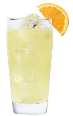 Tropical Cream Soda:     2 oz. Pinnacle Orange Whipped  4 oz. club soda  Splash pineapple juice    Mix in a glass with ice and garnish with an orange wedge.