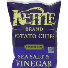 KETTLE Brand Potato Sea Salt & Vinegar salty snack 8.5 oz classic Non-GMO food #KETTLE Brand #Potato #Sea #Salt & #Vinegar salty #snack 8.5 oz classic #Non-GMO #food
