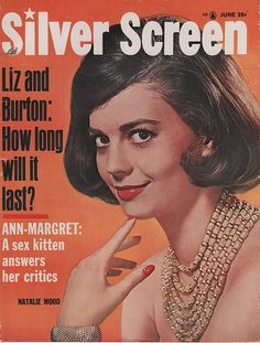 Natalie Wood on the June 1963 Silver Screen