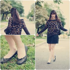 Golden cat (by Melina Souza) http://lookbook.nu/look/3381329-Golden-cat