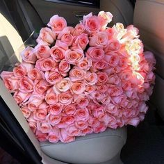 Find images and videos about pink, flowers and rose on We Heart It - the app to get lost in what you love. Luxury Flowers, My Flower, Flower Power, Beautiful Flowers, Prettiest Flowers, Beautiful Bouquets, Flower Crowns, 100 Roses, Pink Roses