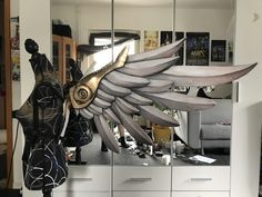 MERCY//WINGED VICTORY NOTE: STILL UNDER CONSTRUCTION, MORE WILL BE ADDED SOON. PLEASE MESSAGE ME IF I MISSED SOME TUTORIAL PARTS This tutorial here and all patterns are free! But if you like my work and the tutorials,