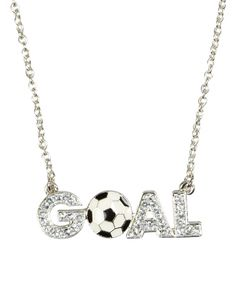 Goal Soccer Necklace | Girls Necklaces Jewelry | Shop Justice