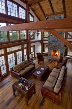 Luxury Log Home Adore Your Place