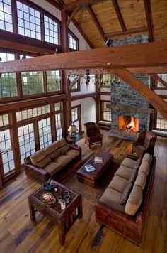 Lakeside Timber Home