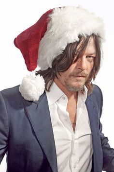 'Walking Dead' star Norman Reedus talks naughty holidays with Marilyn Manson | New York Post