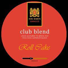 Pipe tobacco MacBaren Club Blend label