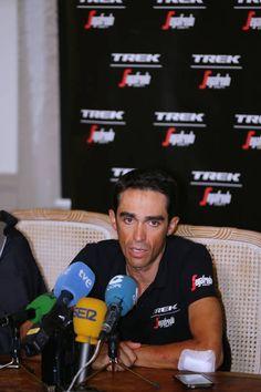104th Tour de France 2017 / PC Team Trek Segafredo Alberto CONTADOR / Team Trek Segafredo / Press Conference/ Rest Day/ TDF/
