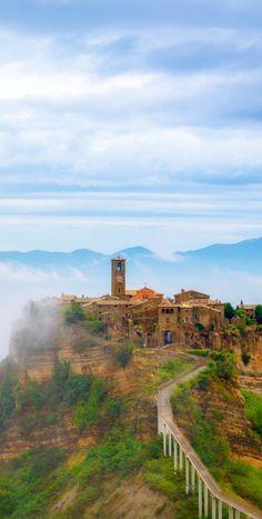 Civita di Bagnoregio (town) in Viterbo Province (Central Italy) 120 kilometers north of Rome, by Jason Arney