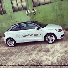 Audi A1 e-tron // future lab tron-experience, Berlin im Juni 2013 #Audi #A1 #etron