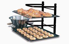 Kitchen Gadget Gift Guide ~ Baker's 4-Tier Adjustable Cooling Rack #diy