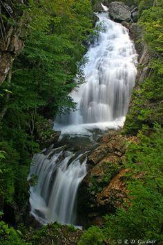 Crystal Cascade, Pinkham Notch, White Mountain National Forest