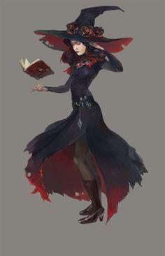 Witch adopt by opi-um on DeviantArt