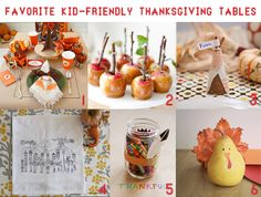 Favorite Kid-Friendly Thanksgiving Tables | Mrs Potter