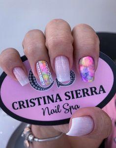 Lux Nails, Transparent Nails, Nail Spa, Summer Nails, Nail Colors, Manicure, Finger, Nail Designs, Nail Polish