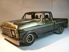 Ford f100 metal art
