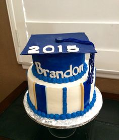 Marina High School themed Graduation Cake