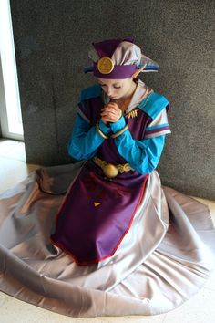 Young Princess Zelda (from The Legend of Zelda: Ocarina of Time)   By Ninnu