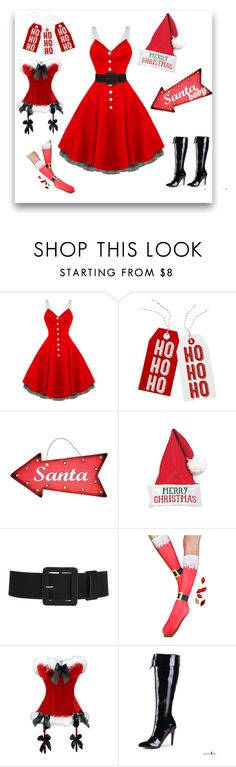 Santa Baby by modern-grease on Polyvore featuring Living Royal, Seasonal Specialties and Talking Tables
