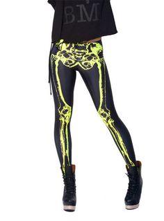 Women's Designed Digital Print Skeleton Pattern Sexy Stretch Leggings Black Milk Show http://www.amazon.com/dp/B00NVE823E/ref=cm_sw_r_pi_dp_IWgpub19N0WCG