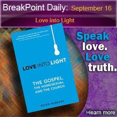 Love Into Light Review From BreakPoint, Eric Metaxas #ChristianBook #AmbassadorIntl