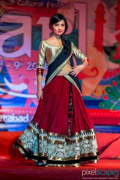 Here is the Fancy Lehenga Choli by Sai Silk Ideal for Parties and festivals. Our Lehenga Choli are Made and stitched using high grade fabric,. Hindus, Indian Bollywood, Bollywood Fashion, Indian Dresses, Indian Outfits, Indian Clothes, Hyderabad, Pakistani Party Wear, Indian Look
