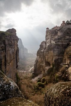Meteora Greece by Alexandros Aidonis